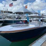 navy blue mag bay docked
